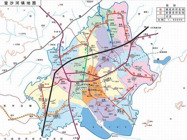 距庄大铁路线1公里,距大窑湾集装箱码头30公里,东与长海县最近处相距