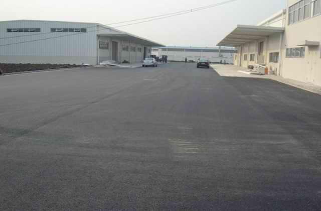厂区地面道路维护